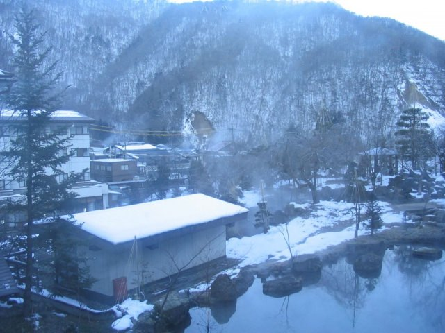 冬の奥飛騨温泉郷