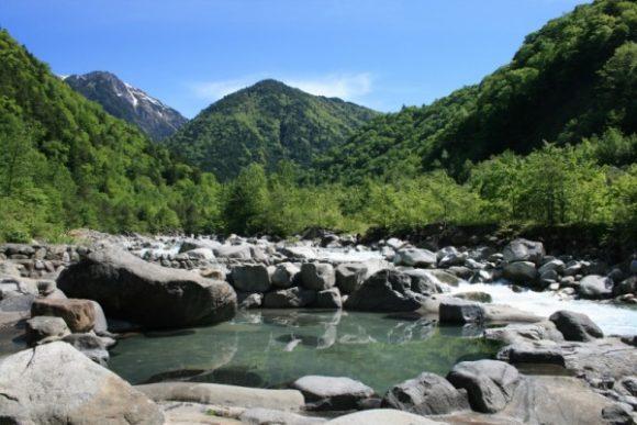 深山荘露天風呂