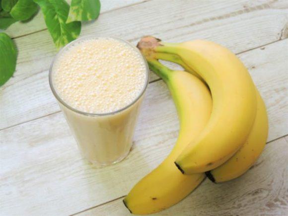 バナナとジュース