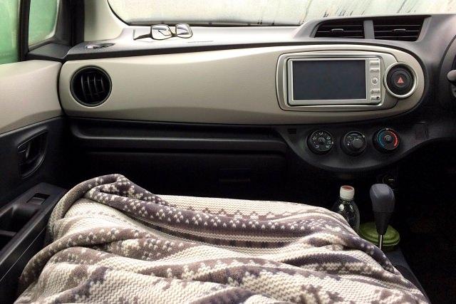 車中泊 イメージ
